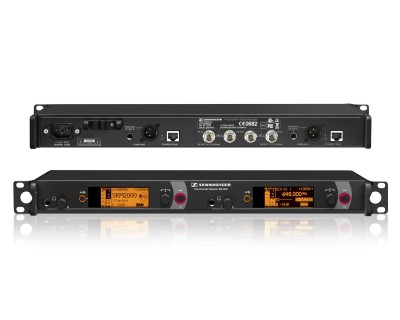 EM2050 CH38 DUAL Rack Mount Receiver with PC Control 1U
