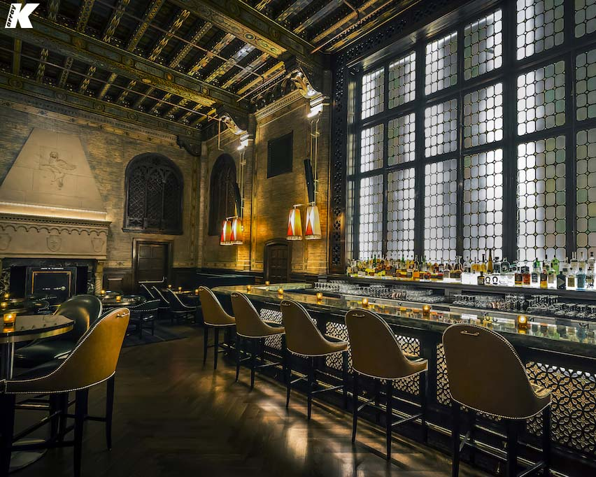 K-array Create Distributed Audio for Grand Central Bar
