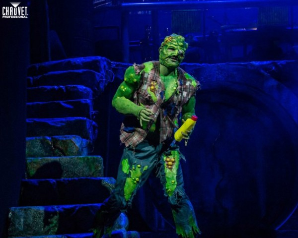 CHAUVET Professional Provides Intoxicating Looks For The Toxic Avenger – The Musical