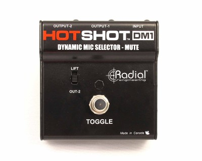 HotShot DM1 On-Stage Mic Mute & Signal Re-Director