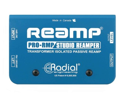 PRORMP Passive Re-Amper 1Ch (Line-In Guitar Amp Out)