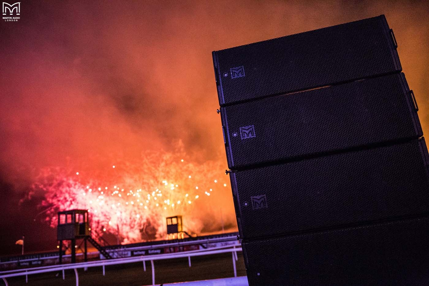 Martin Audio makes Lingfield Park Fireworks go off with a Bang