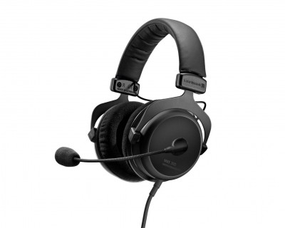 MMX300 2nd Gen Closed Headset with Cable Remote Control