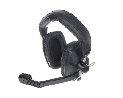 DT109kit Black Double-Side Headset 400ohm Bare Ended Cable