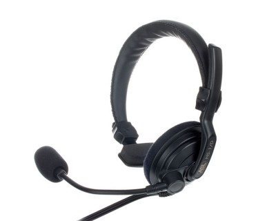 HS1/D Single Muff Headset with Dynamic Mic (XLR4)