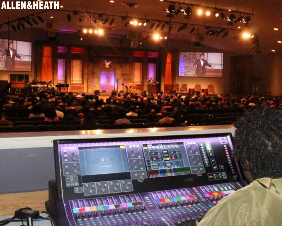 New Covenant embraces Allen & Heath for Worship, Brodcast and Monitors