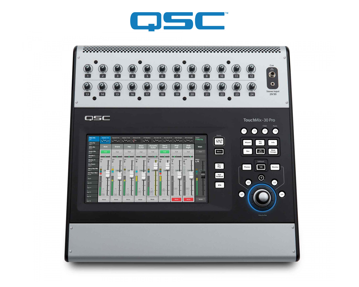 QSC TouchMix-30 Pro brings sound to French chateau