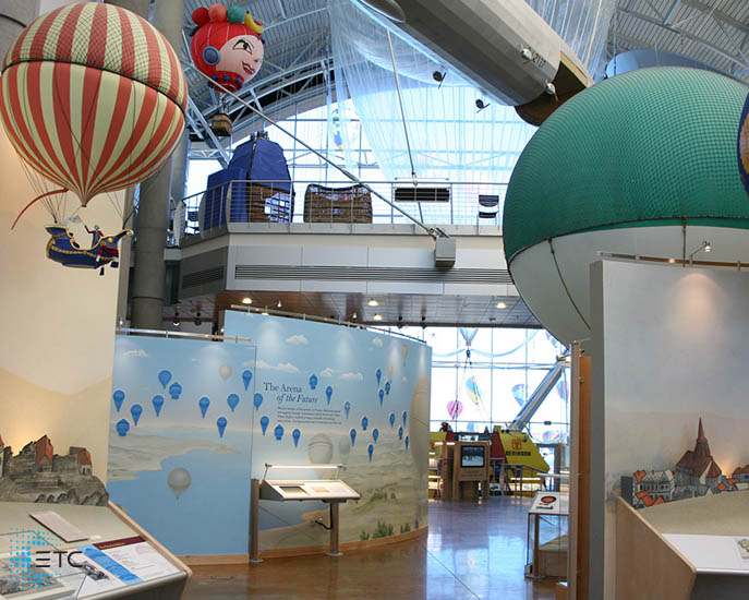 ETC and Echoflex take balloon museum to new heights
