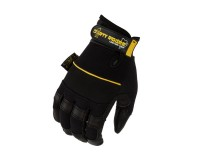 Dirty Rigger Leather Heavy Duty Full Finger Rigging / Loader Gloves (M) - Image 3