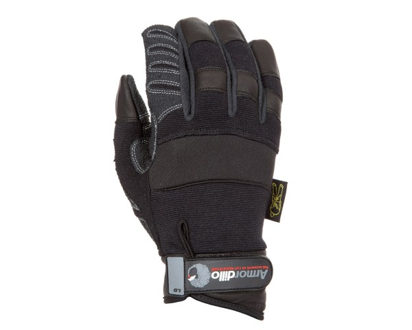 Dirty Rigger Armordillo Kevlar Lined Sharp Object Resistant Gloves (L) - Main Image