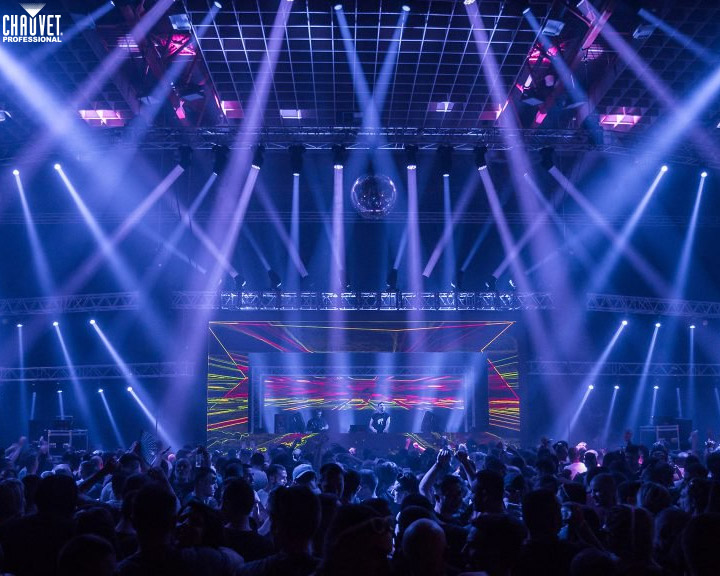 CHAUVET Professional Maverick Creates Memorable Looks at Green Love Festival