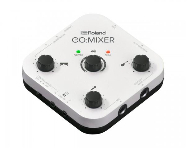 buy gomixer compact portable mixer with multiple inputs go mixerroland pro av gomixer compact portable mixer with multiple inputs main image
