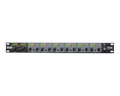 MX6S 6Ch Mixer with Signal Splitter Functionality Rack Mount