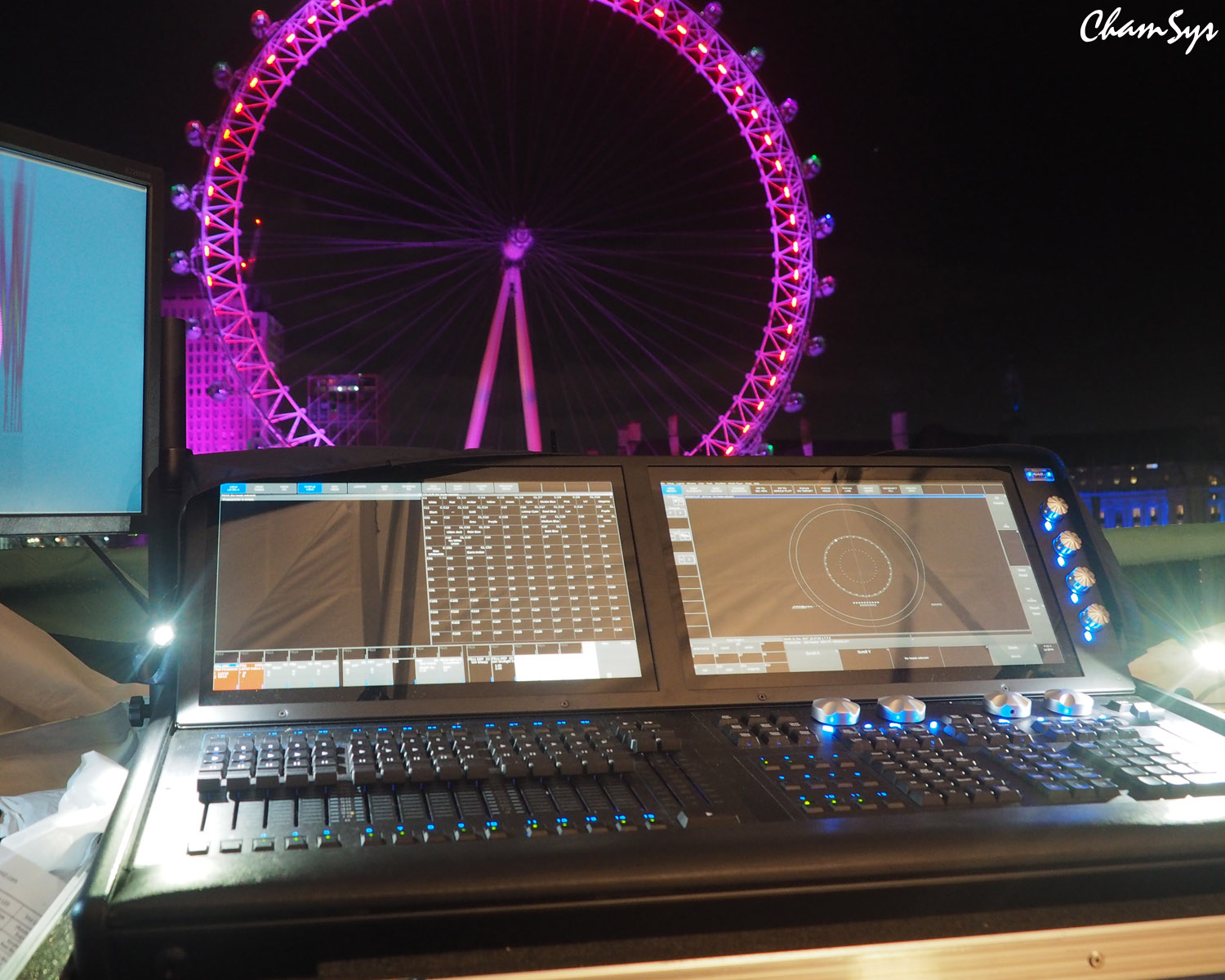 ChamSys celebrates the New Year in style at London's Annual Firework Display