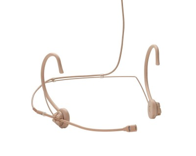 TGH54c Condenser Neckworn Cardioid Mic TG Pin Out Tan