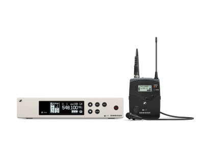 EW100 G4 ME2-1G8 Lapel System with ME2II Omni Lapel Mic 1G8