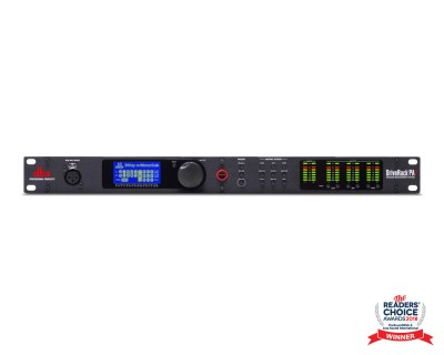 DriveRack PA2 2x6 Sound Mgt Processor with Mobile Control 1U