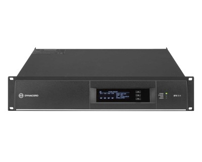 IPX 10:4 DSP Power Amplifier 4x2500W @ 4ohms