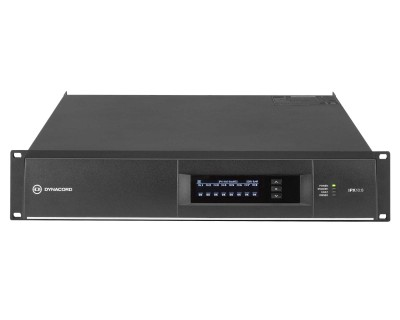 IPX 10:8 DSP Power Amplifier 8x1250W @ 4ohms