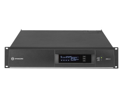 IPX 20:4 DSP Power Amplifier 4x5000W @ 4ohms