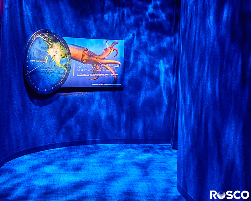 National Geographic Encounter Creates A Virtual Ocean Odyssey With Rosco Lighting Effects