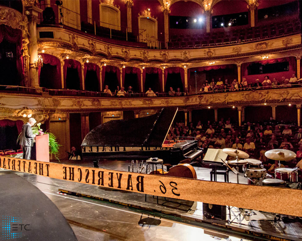 36th Bayerische Theatertage festival lit up by ETC
