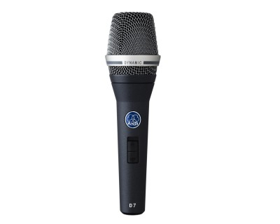 D7 Hypercardioid Reference Quality Vocal Mic