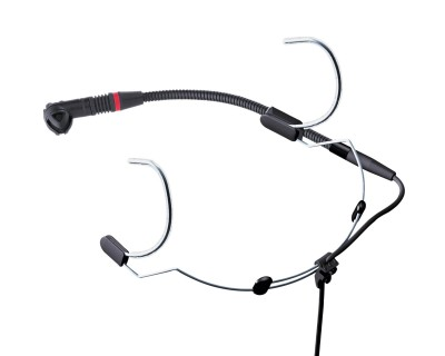 C555L Behind the Neck Moisture-Res Head Mic (Mini XLR)