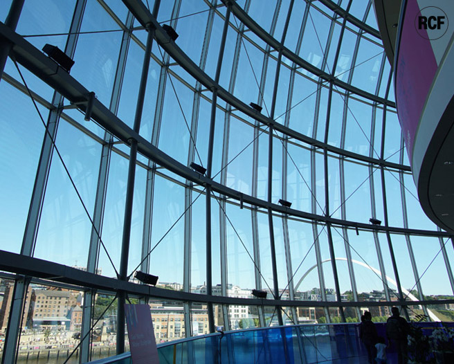 RCF HDL 6-A's specified for unique soundscape at Sage Gateshead