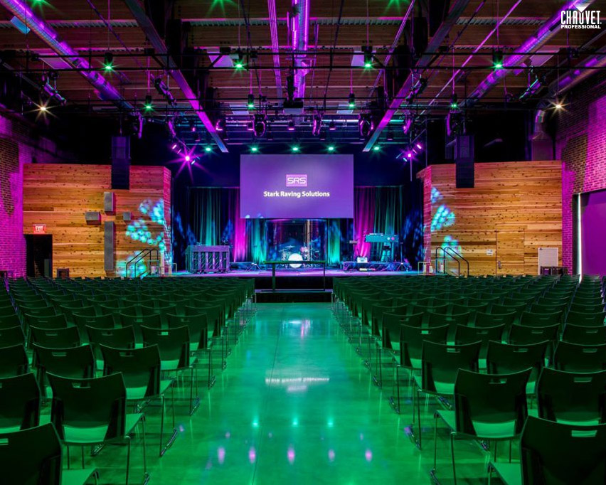 Stark Raving Solutions Lights Kansas City's First New Church In 80 Years With CHAUVET Professional