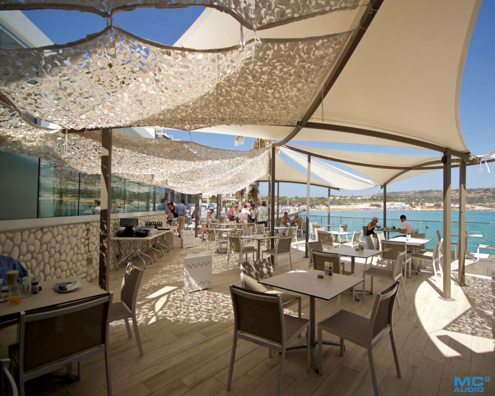 Blue Beach Club: Dine Dance, Repeat with MC2 Audio