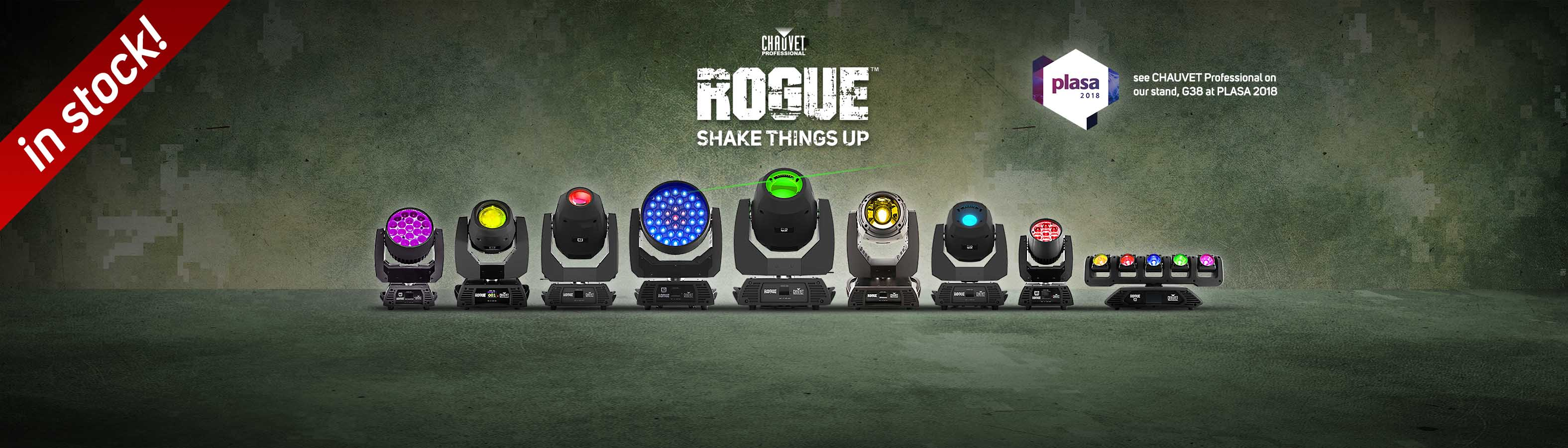18-08-14 CHAUVET PRO - ROGUE in stock