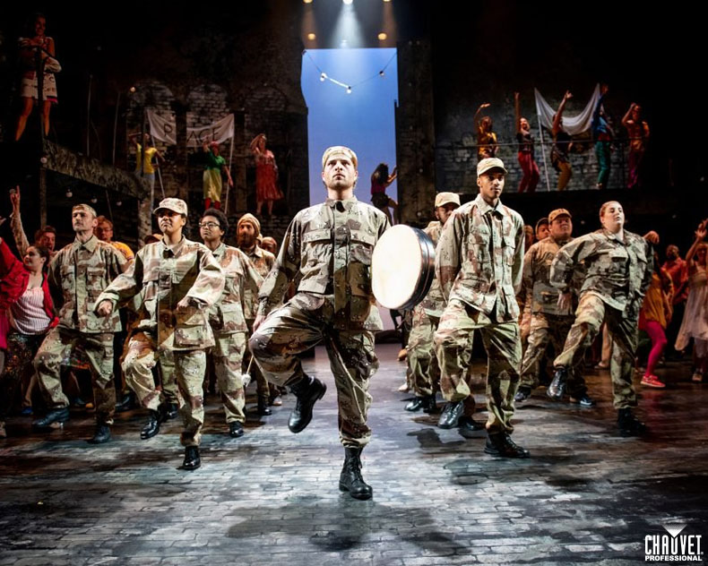 Lee Curran Bends Reality In Woyzeck With CHAUVET Professional