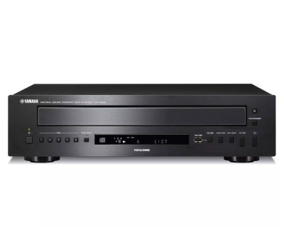 CDC600BLRK Carousel Multi-CD Player with RS232 RACK MOUNT 3U