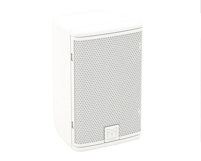"A40W 4"" 2Way Passive Speaker 110x80 Deg Coverage WHITE"