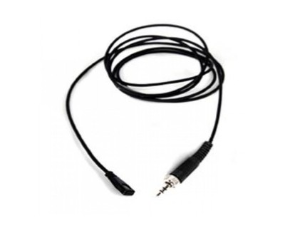LM212 Mini Lavalier Hi-Q Mic+12dB Pad Black (Mini Jack)