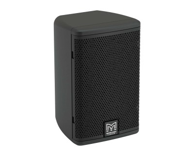 "A40TB 4"" 2Way Passive Speaker 110x80 Deg Coverage 100V BLACK"