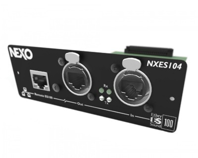 ES104 EtherSound Card for NXAMP 4x1 Amp/Controller
