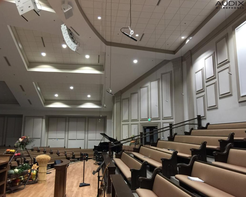 The Ark of Salvation Church Receives Audio Makeover from Audix