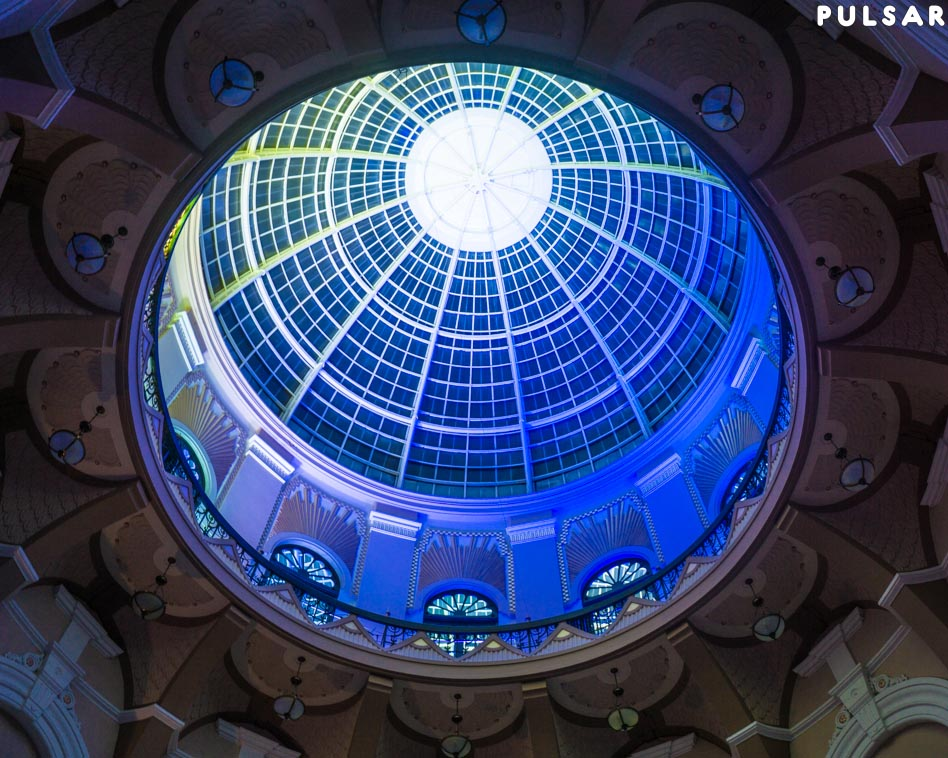 Pulsar Illuminates Blackpool Winter Gardens