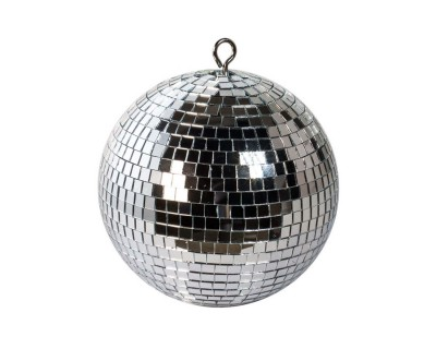 Mirrorball 20cm with Solid Plastic Core and Safety Chain