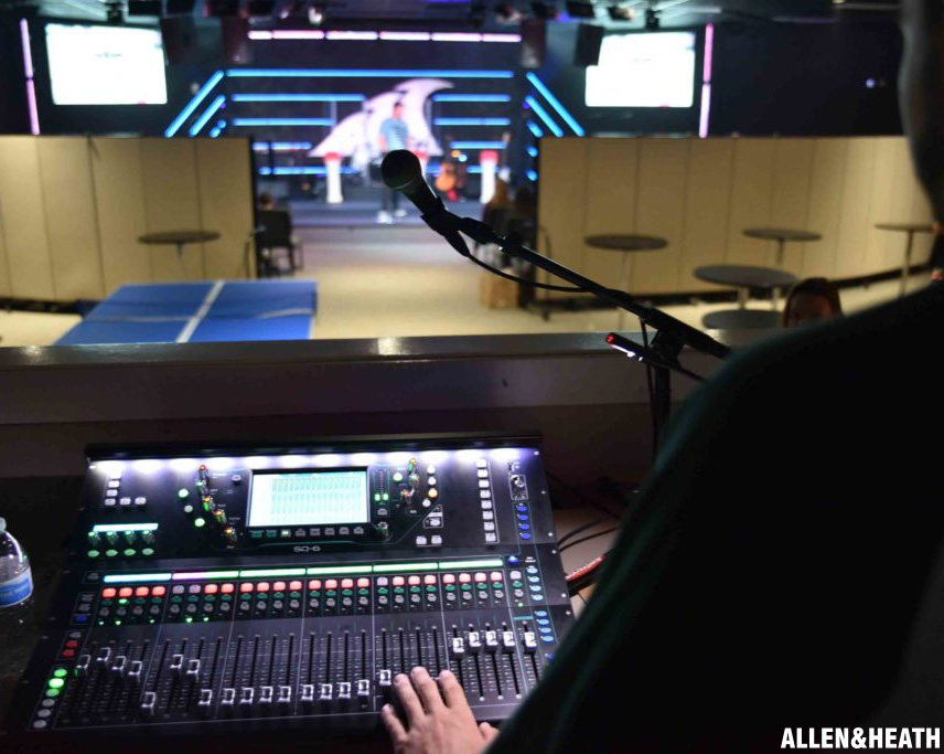 Allen & Heath Energises Church at Viera's Modern Worship