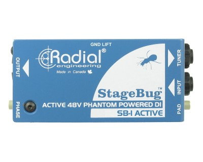 StageBug SB1 Active Direct Box for Acoustic Guitars
