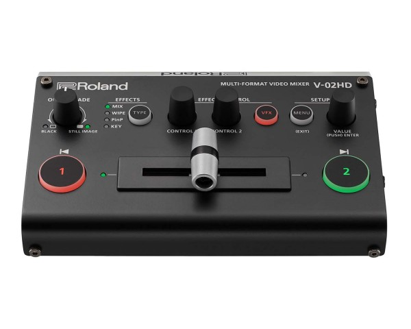 Roland Pro AV V02HD 2 HDMI i/p Multi Format Video Mixer/Switcher/Scaler - Main Image
