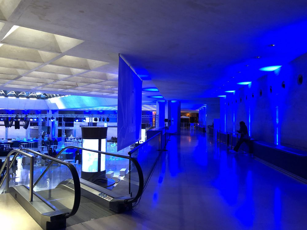 CHAUVET Professional WELL Fit Creates Colourful Backdrop at The Louvre