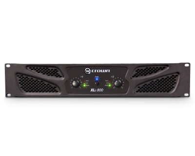 XLi800 Rugged Power Amplifier 2x300W @ 4ohm 2U