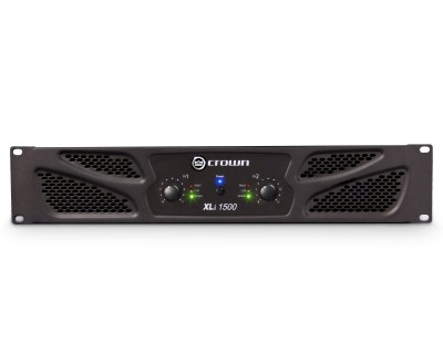 XLi1500 Rugged Power Amplifier 2x450W @ 4ohm 2U