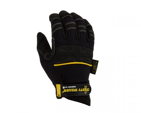 Dirty Rigger Comfort Fit Mens Full Finger Rigging / Loader Gloves (XL) - Main Image