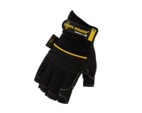 Dirty Rigger Comfort Fit Mens Fingerless Rigging / Operator Gloves (L) - Image 3