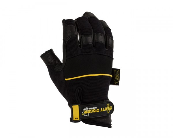Dirty Rigger Leather Heavy Duty Framer Rigging / Operator Gloves (L) - Main Image